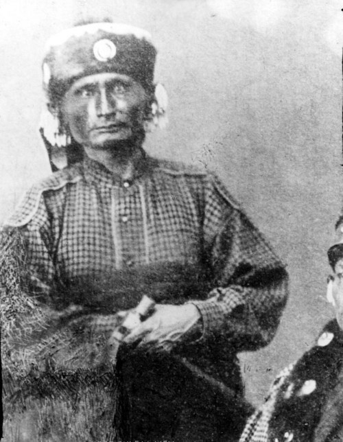 Al-le-ga-wa-ho, Head Chief of the Kaw - Page