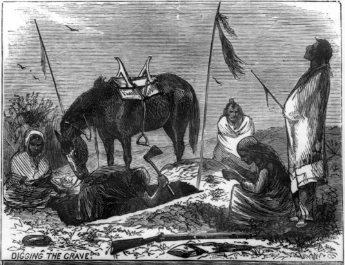 Kansa Indian ceremony of burial - Page