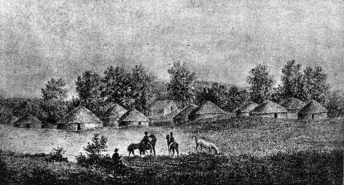 Fool Chief's Village, Shawnee County, 1841