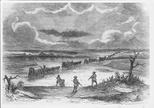 Fording the Arkansas River - Page