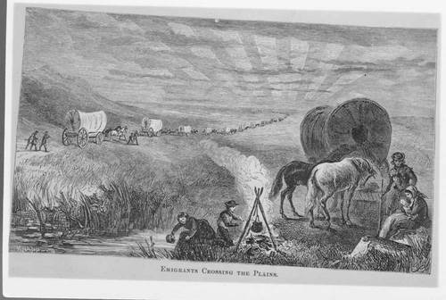 Emigrants Crossing the Plains - Page