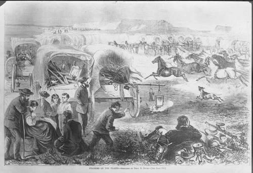 Pilgrims on the Plains - Page
