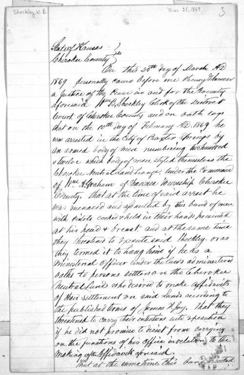 Willliam B. Shockley affidavit - Page