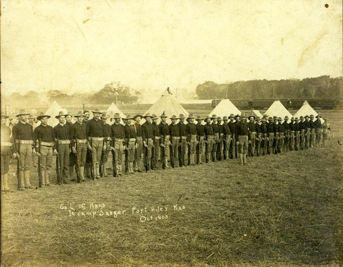 Camp William Cary Sanger, Fort Riley, Kansas - Page