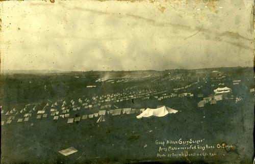 Army maneuvers at Camp William Gary Sanger, Fort Riley, Kansas - Page
