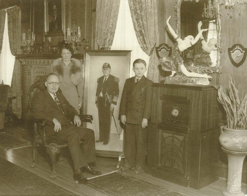 Dr. John R. Brinkley and family - Page