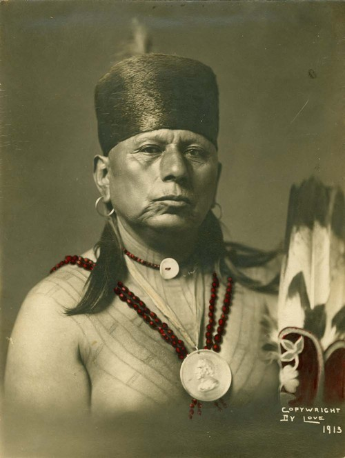Chief Bacon Rind, Chief of the Osage Indians - Page