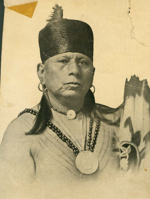 Chief Bacon Rind, former Chief of the Osage Indians - Page