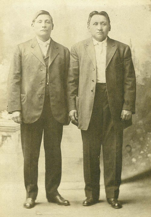 Jesse Mehojah and Forrest Chouteau - Page