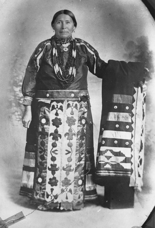 Kansas Indian Grandma McCauley - Page