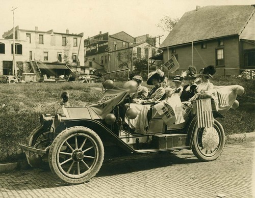 Suffragettes, Lawrence, Kansas - Page