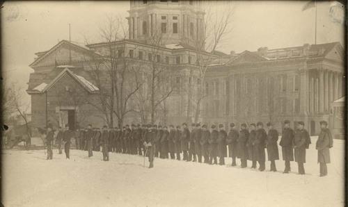 Militia at the Kansas Statehouse, Topeka, Kansas - Page