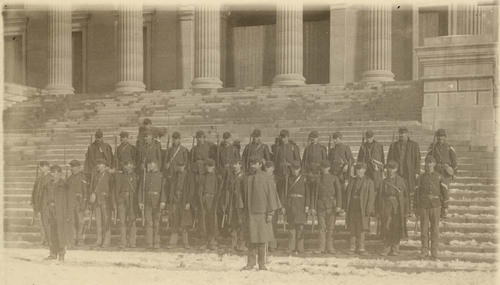 Militia at the Kansas Statehouse, Topeka, Kansas - Page