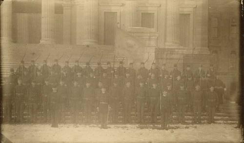 Robinson Rifles at the Kansas Statehouse, Topeka, Kansas - Page