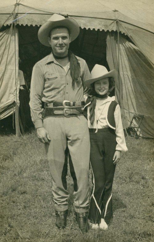 Reb Russell and daughter, Betty - Page