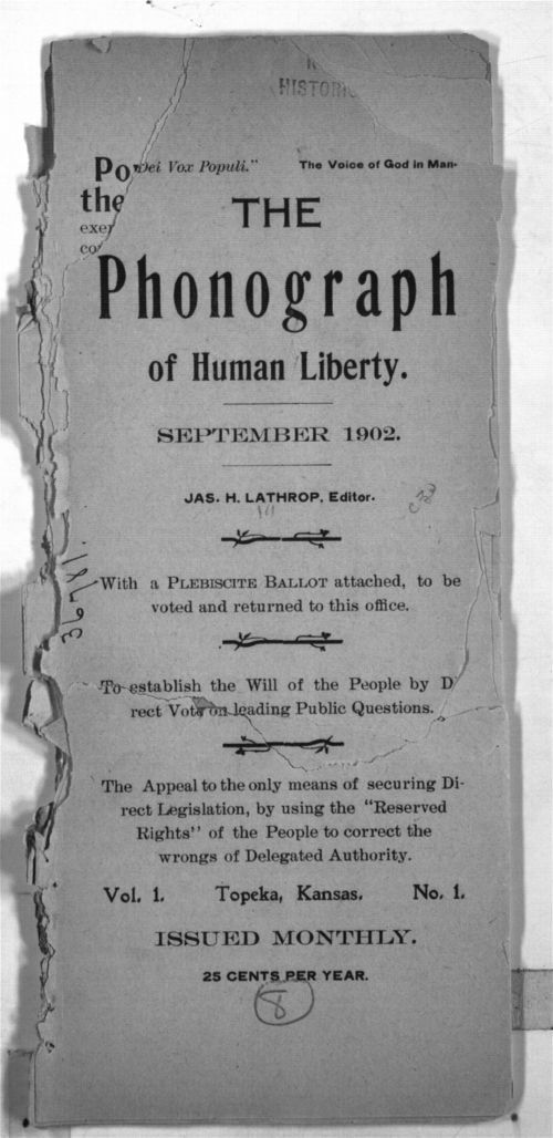 The phonograph of human liberty - Page