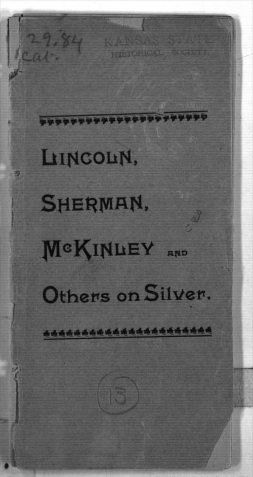 Lincoln, Sherman, McKinley and others on silver - Page