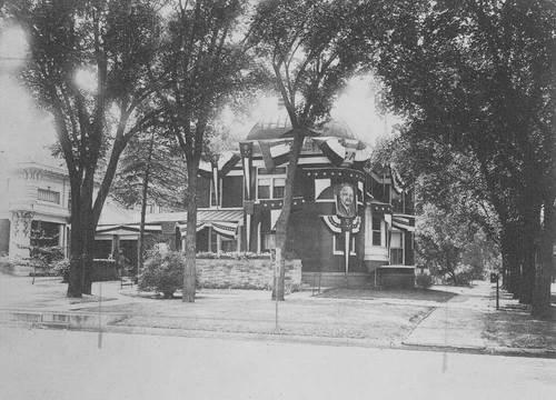 Charles Curtis' home, Topeka, Kansas - Page