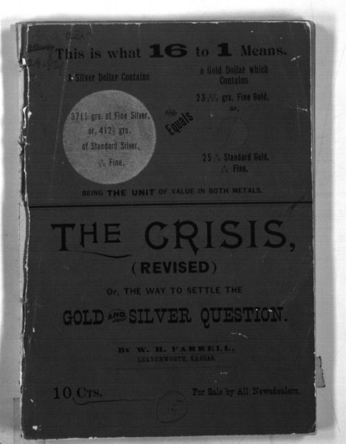 The crisis, (revised) or, The way to settle the gold and silver question - Page