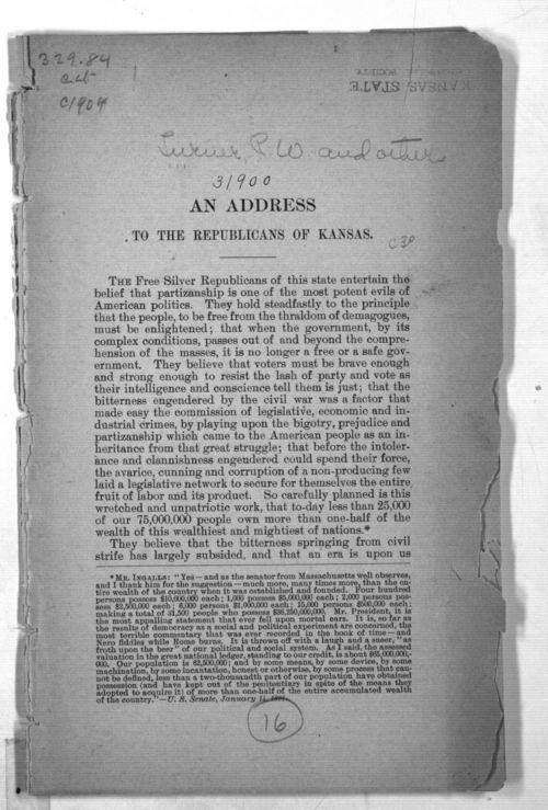An Address to the Republicans of Kansas - Page