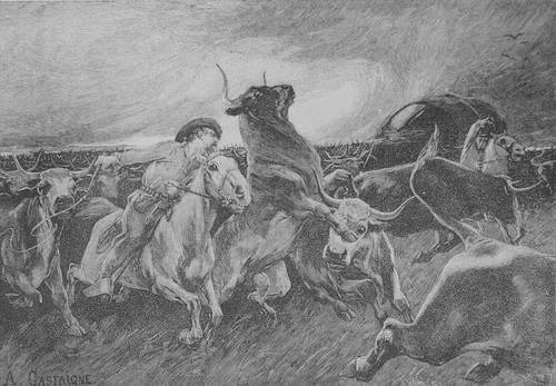 A Stampeded Herd - Page