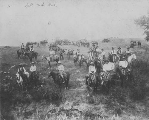 Cowboys, Barber County, Kansas - Page