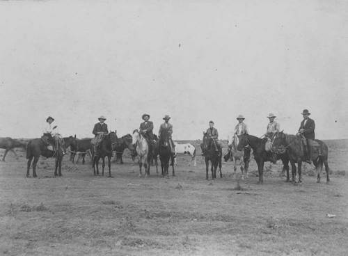 Cowboys on their horses - Page