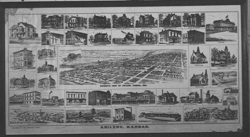 Bird's-eye view of Abilene, Kansas - Page
