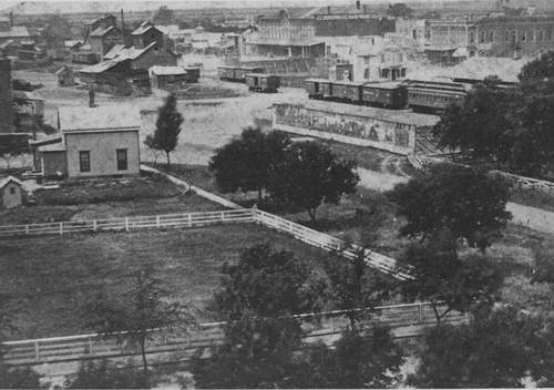 Abilene, Kansas, looking northwest from the Courthouse - Page