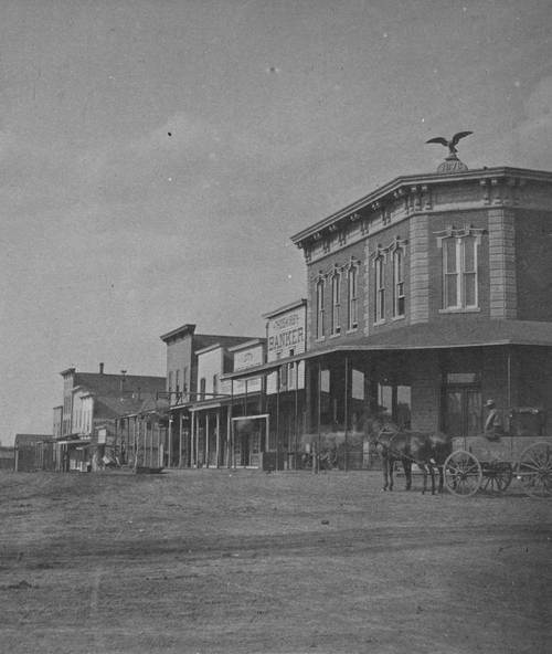 Street scene in Abilene, Kansas - Page