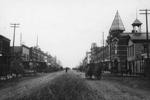 Washington Avenue, Wellington, Kansas - Page