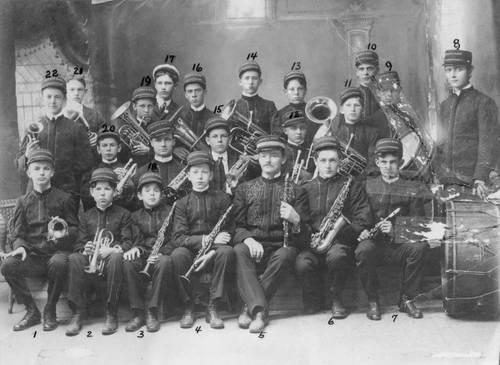 Huuse's Boys Band, Wellington, Kansas - Page