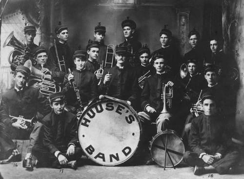 Huuse's Men's Band, Wellington, Kansas - Page