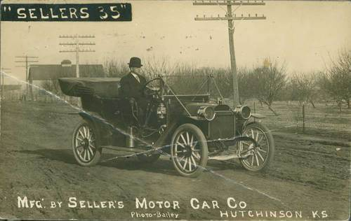 """Sellers 35"" manfactured by Sellers Motor Car Company, Hutchinson, Kansas - Page"
