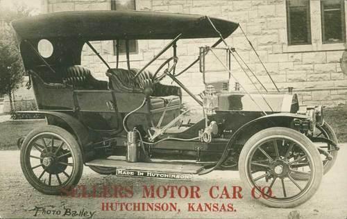 Sellers Motor Car Company, Hutchinson, Kansas - Page