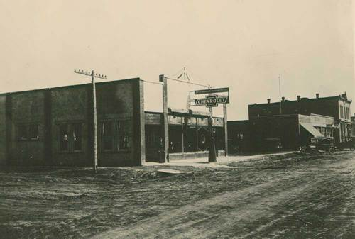 Ryan Motor Co., Chevrolet garage, Ness City, Kansas - Page