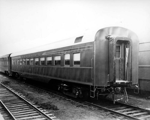 Atchison, Topeka & Santa Fe Railway Company's passenger coach number 3071 - Page