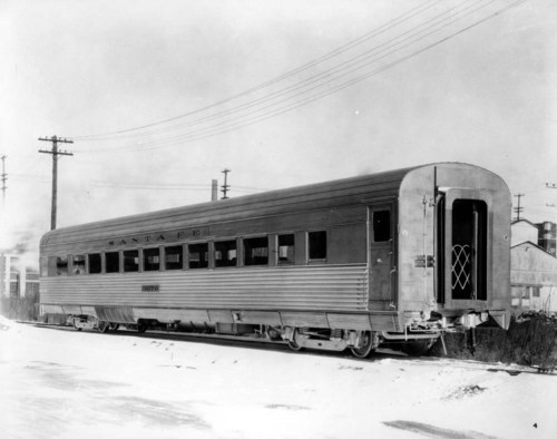 Atchison, Topeka & Santa Fe Railway Company's passenger coach number 3070 - Page