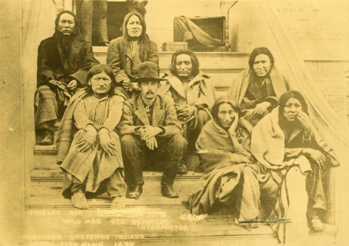 Captured Northern Cheyenne Indians - Page