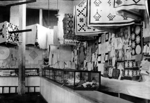 Quilt display, Topeka, Kansas - Page