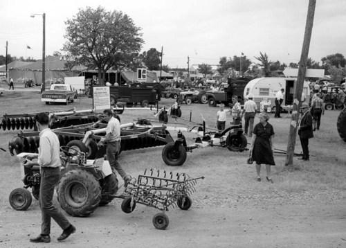 Farm equipment on display - Page