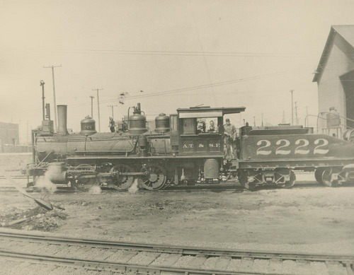 Steam-powered locomotive engine - Page