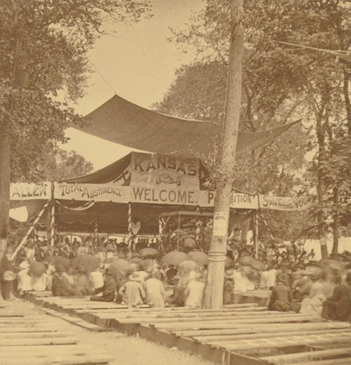 First National Temperance Camp meeting at Bismarck Grove - Page