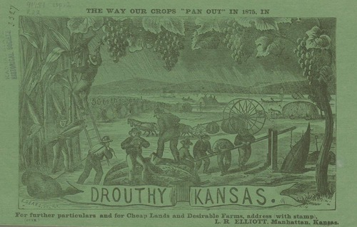 The way our crops pan out in 1875, in drouthy Kansas - Page