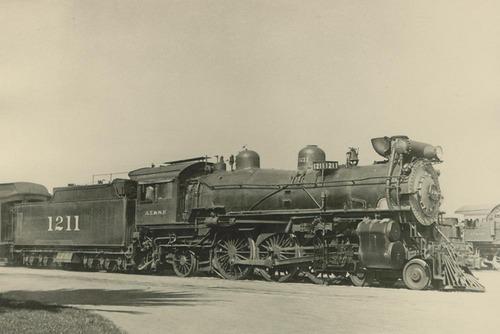 Atchison, Topeka & Santa Fe Railway Company's locomotive engine #1211 - Page