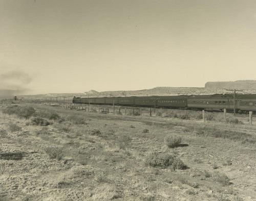 "Atchison, Topeka & Santa Fe Railway ""Scout"" - Page"