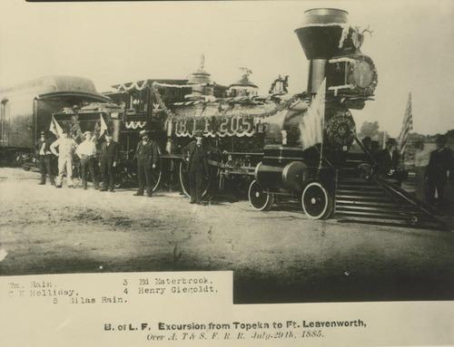 Steam-powered locomotive, Kansas - Page