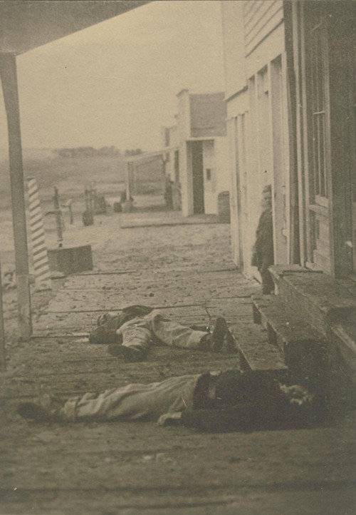 Dead soldiers, Hays, Kansas - Page