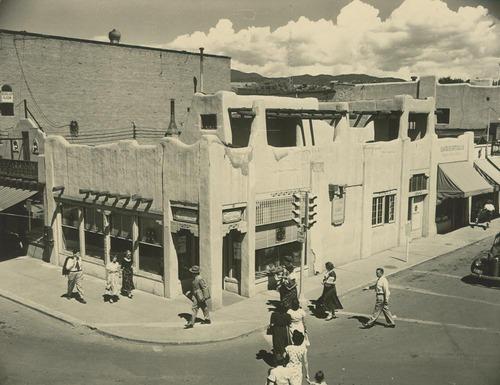 Atchison, Topeka & Santa Fe Railway Company's ticket office, Santa Fe, New Mexico - Page