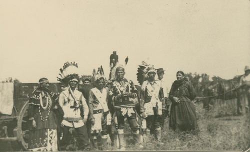 Old powwow grounds, Mayetta, Kansas - Page